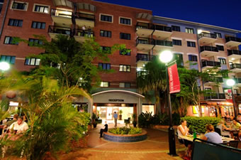 Central Brunswick Apartment Hotel - Tourism Canberra