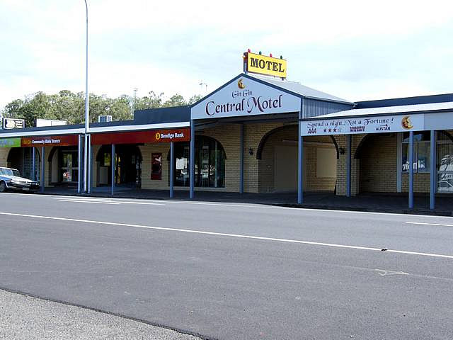 Gin Gin Central Motel - Tourism Canberra