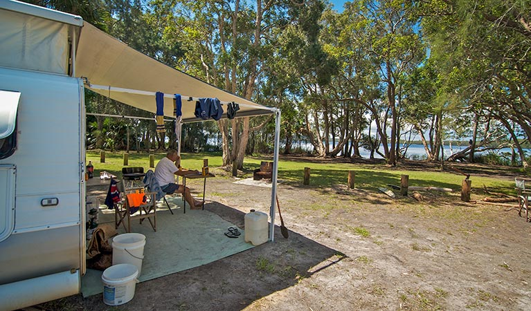 Dees Corner campground - Tourism Canberra