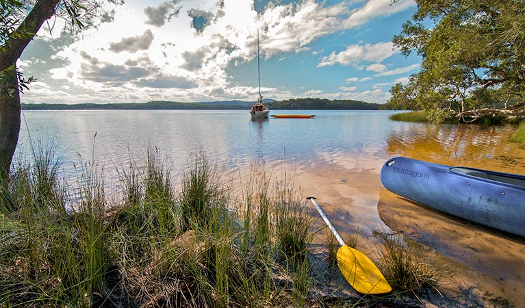 Johnsons Beach campground - Tourism Canberra