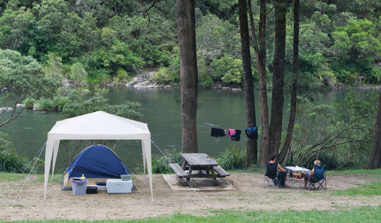 Platypus Flat campground - Tourism Canberra