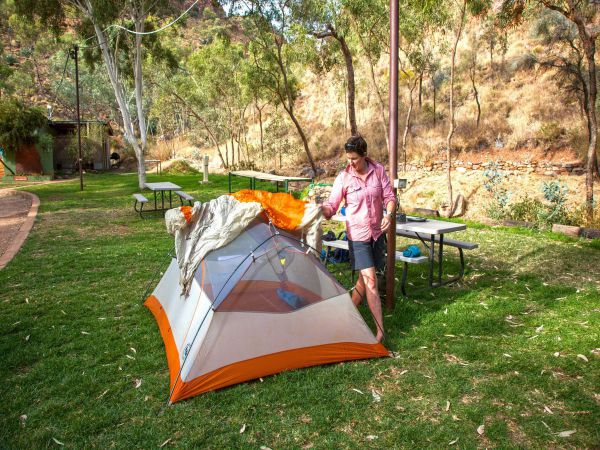 Standley Chasm Angkerle Camping - Tourism Canberra