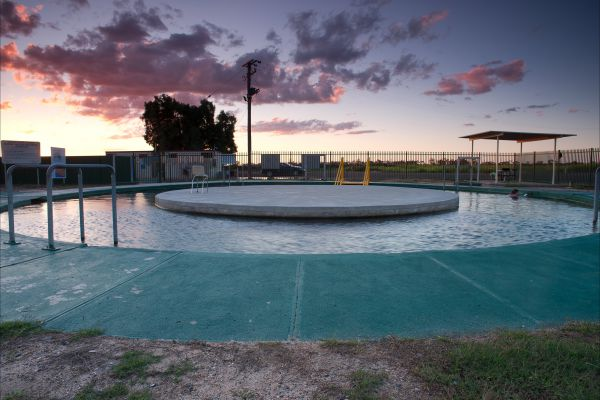 Burren Junction Bore Baths and Camp Ground - Tourism Canberra