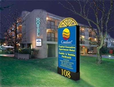 Comfort Capital Executive Apartment Hotel - Tourism Canberra