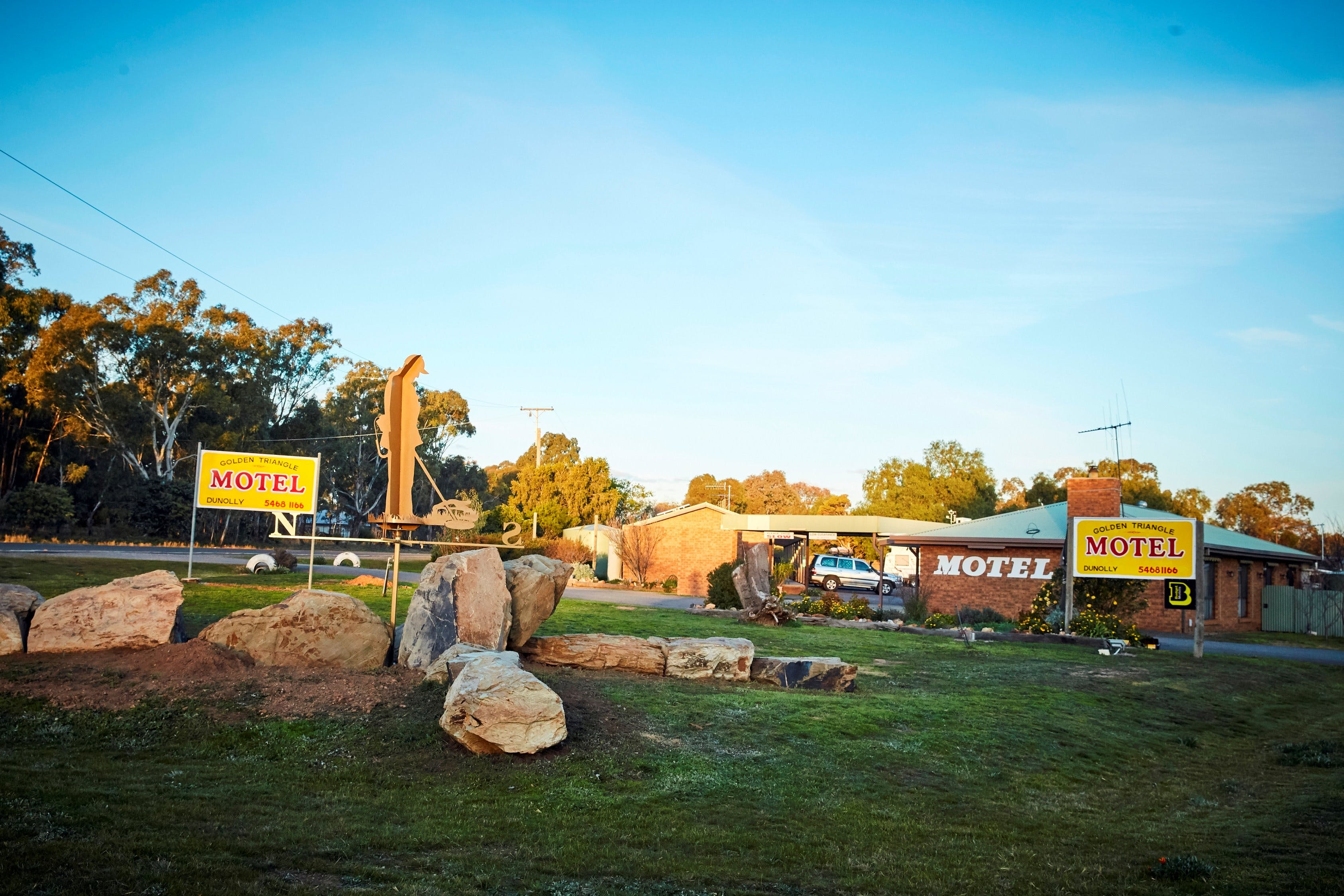 Dunolly Golden Triangle Motel - Tourism Canberra