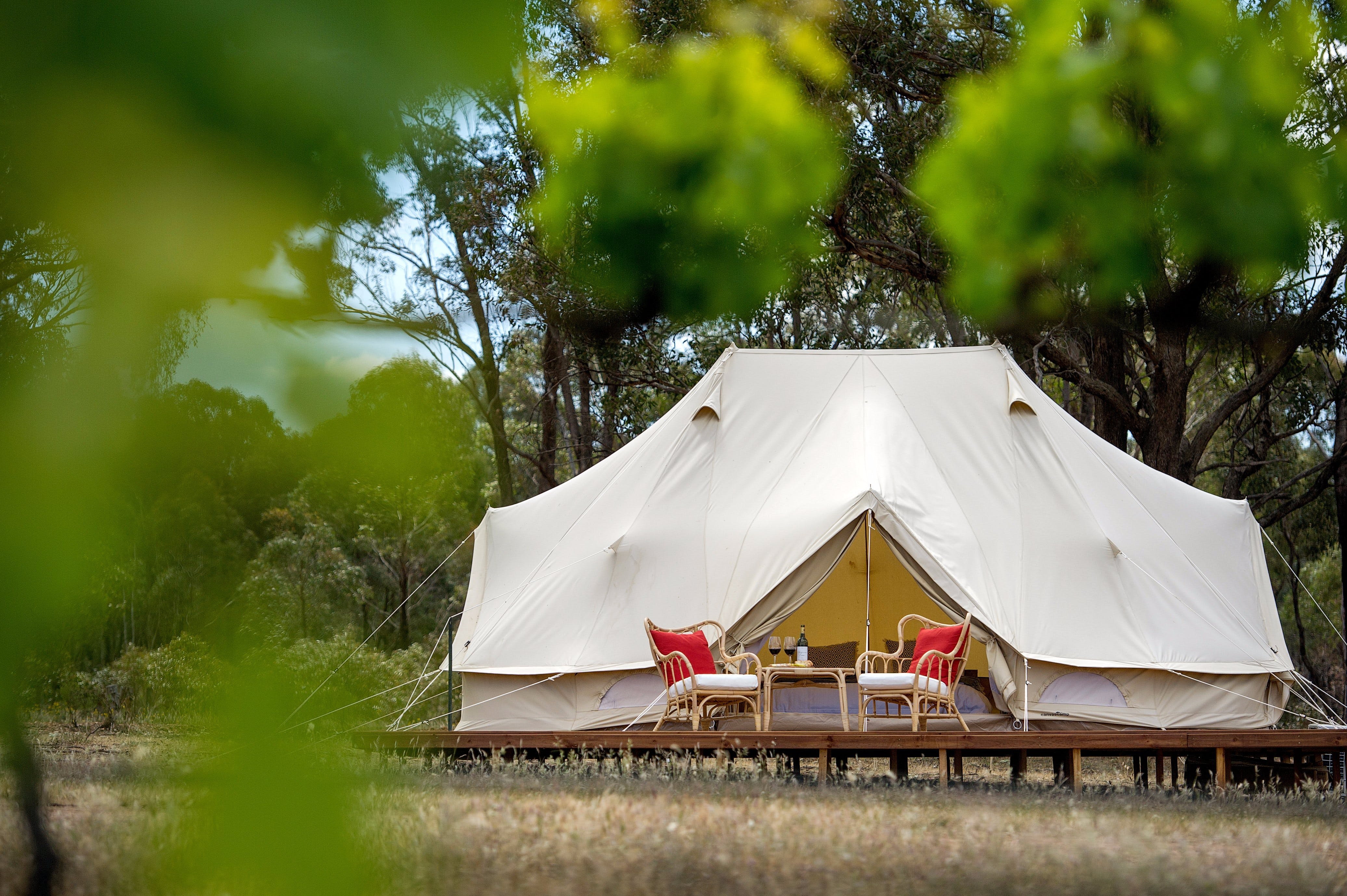 Balgownie Estate Winery Glamping  Accommodation - Tourism Canberra