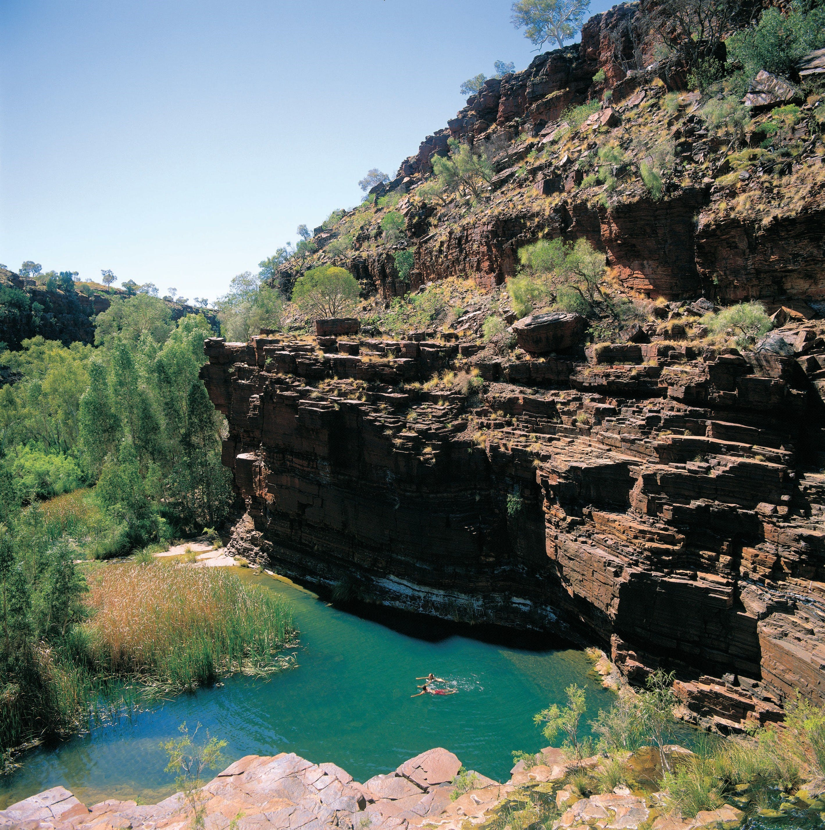 Dales Gorge Camp at Karijini National Park - Tourism Canberra