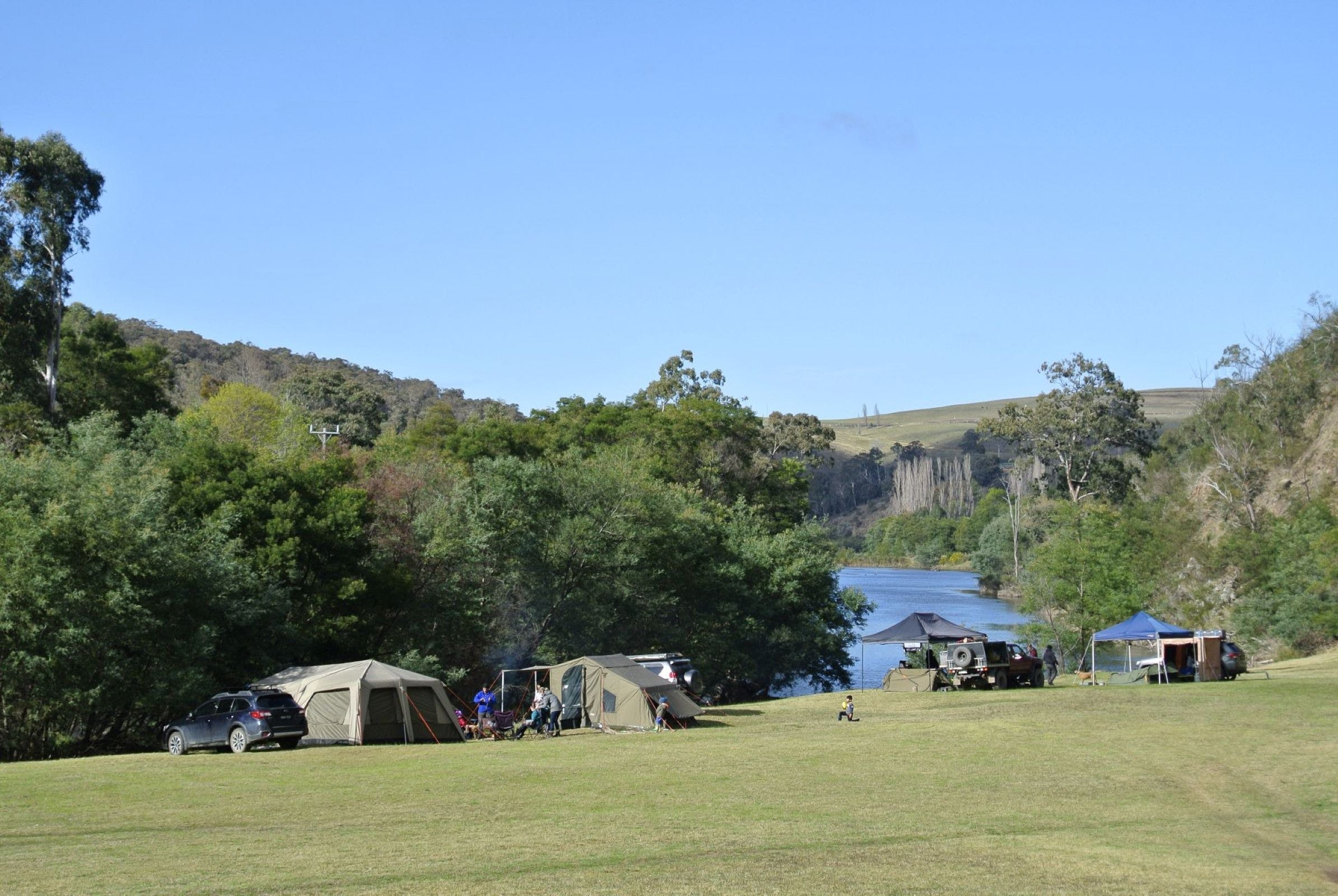 Montana on the Macalister Campground  Caravan Park - Tourism Canberra