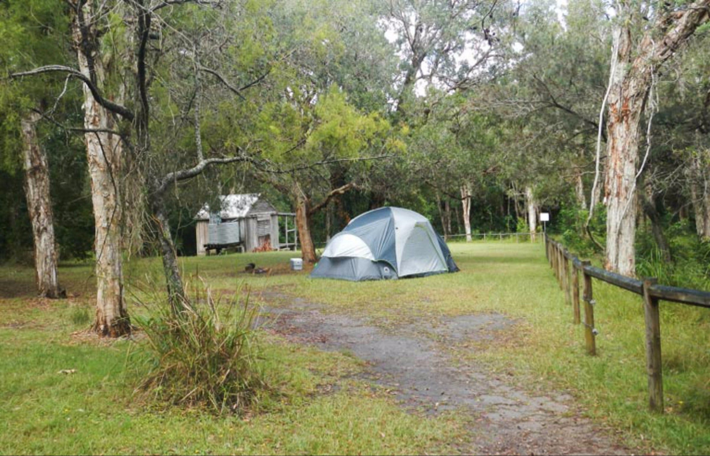 Kylies Hut walk-in campground - Tourism Canberra