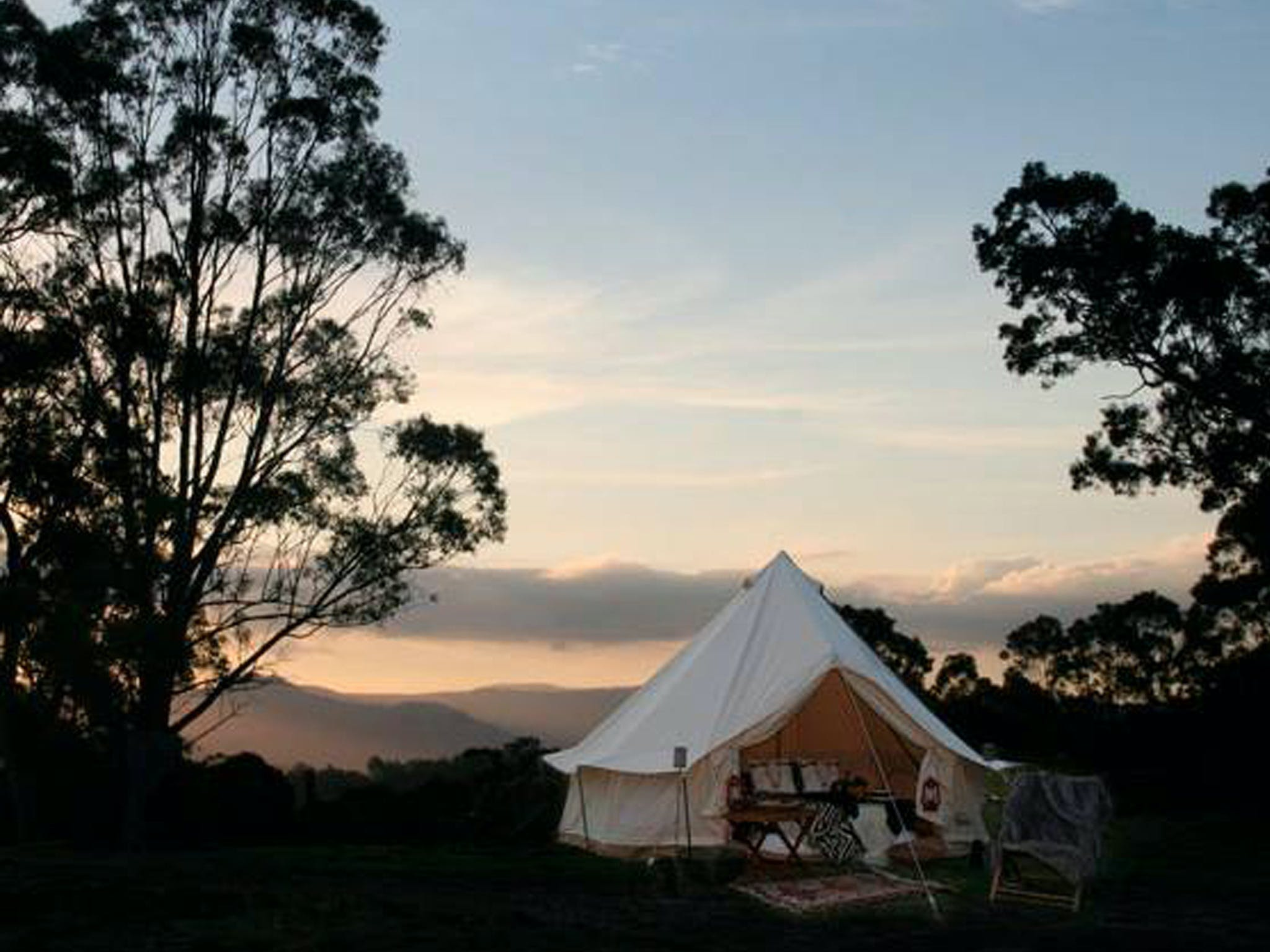 Megalong Valley Glamping - Tourism Canberra