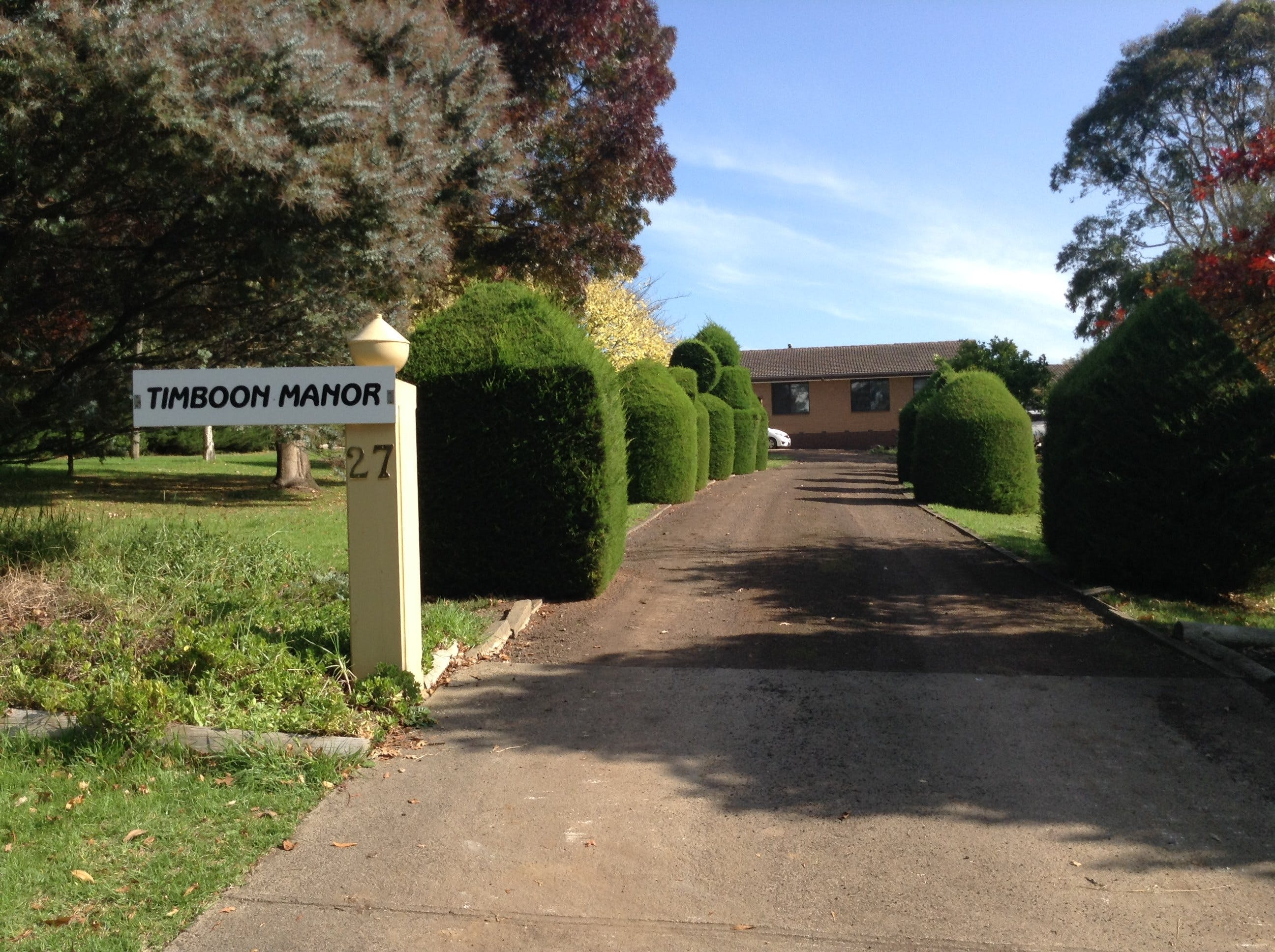 Timboon Manor - Tourism Canberra