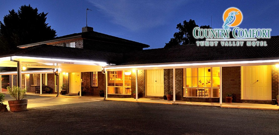 Country Comfort Tumut Valley Motel - Tourism Canberra