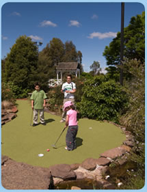 Wetlands Mini Golf - Tourism Canberra