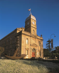 The Albany Town Hall
