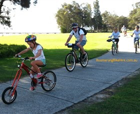 Boomerang Bikes Central Coast Bike Tours - Tourism Canberra