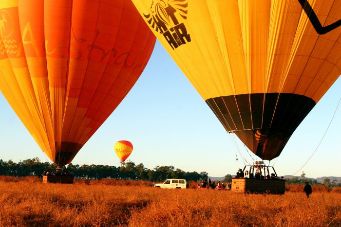 Hot Air Balloon Scenic Rim - Tourism Canberra