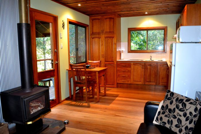 Waterfall Hideout-Rainforest Cabin for Couples - Tourism Canberra