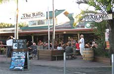 Railway Friendly Bar - Tourism Canberra