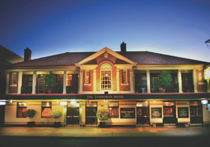 Tamworth Hotel - Tourism Canberra