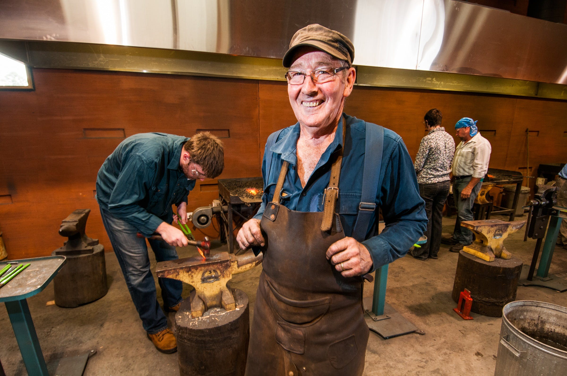 Blacksmithing 3 Day Project - Tourism Canberra