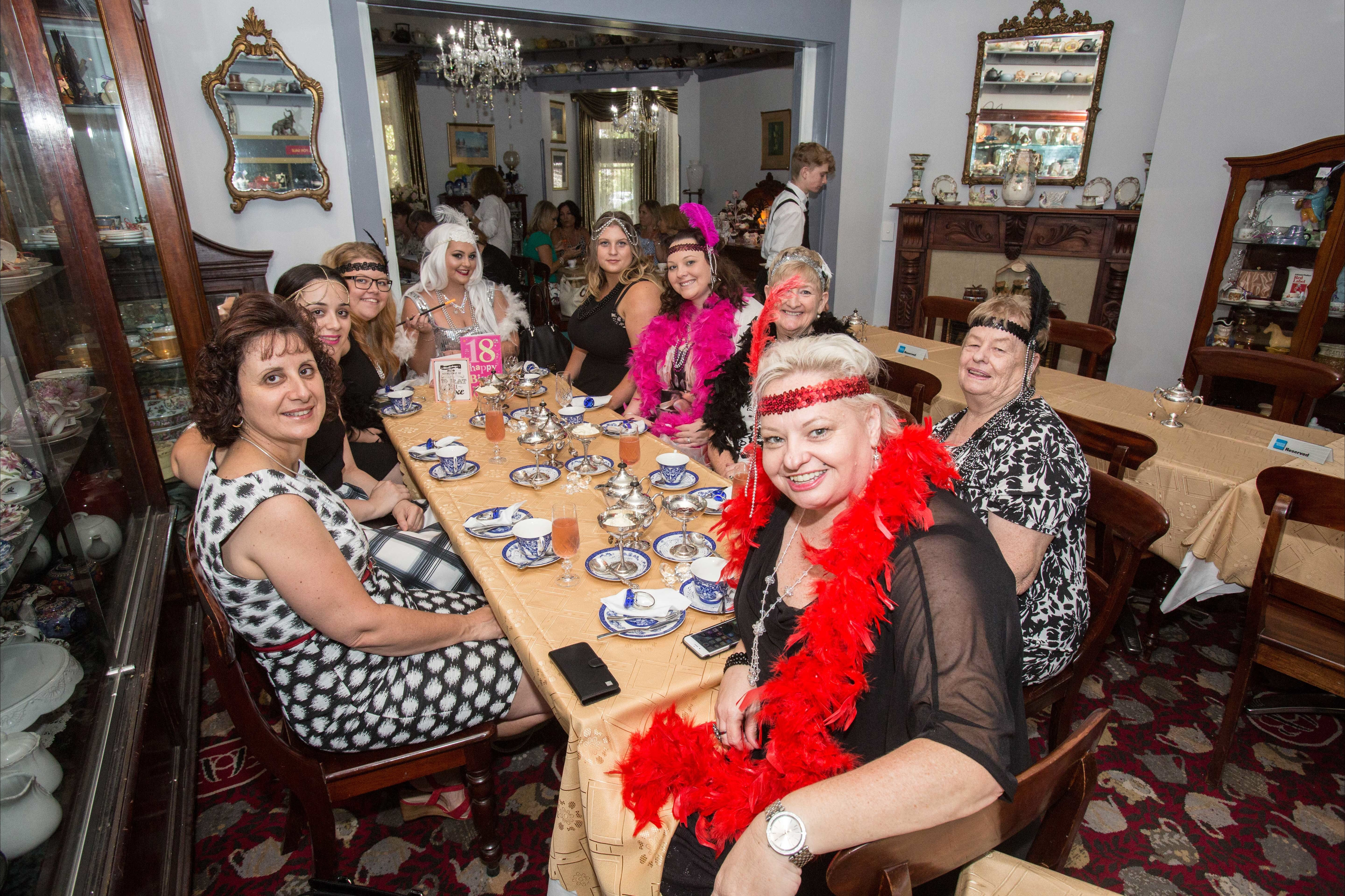 Bygone Beauty's Traditional High Tea Supreme for Good Food Month. - Tourism Canberra