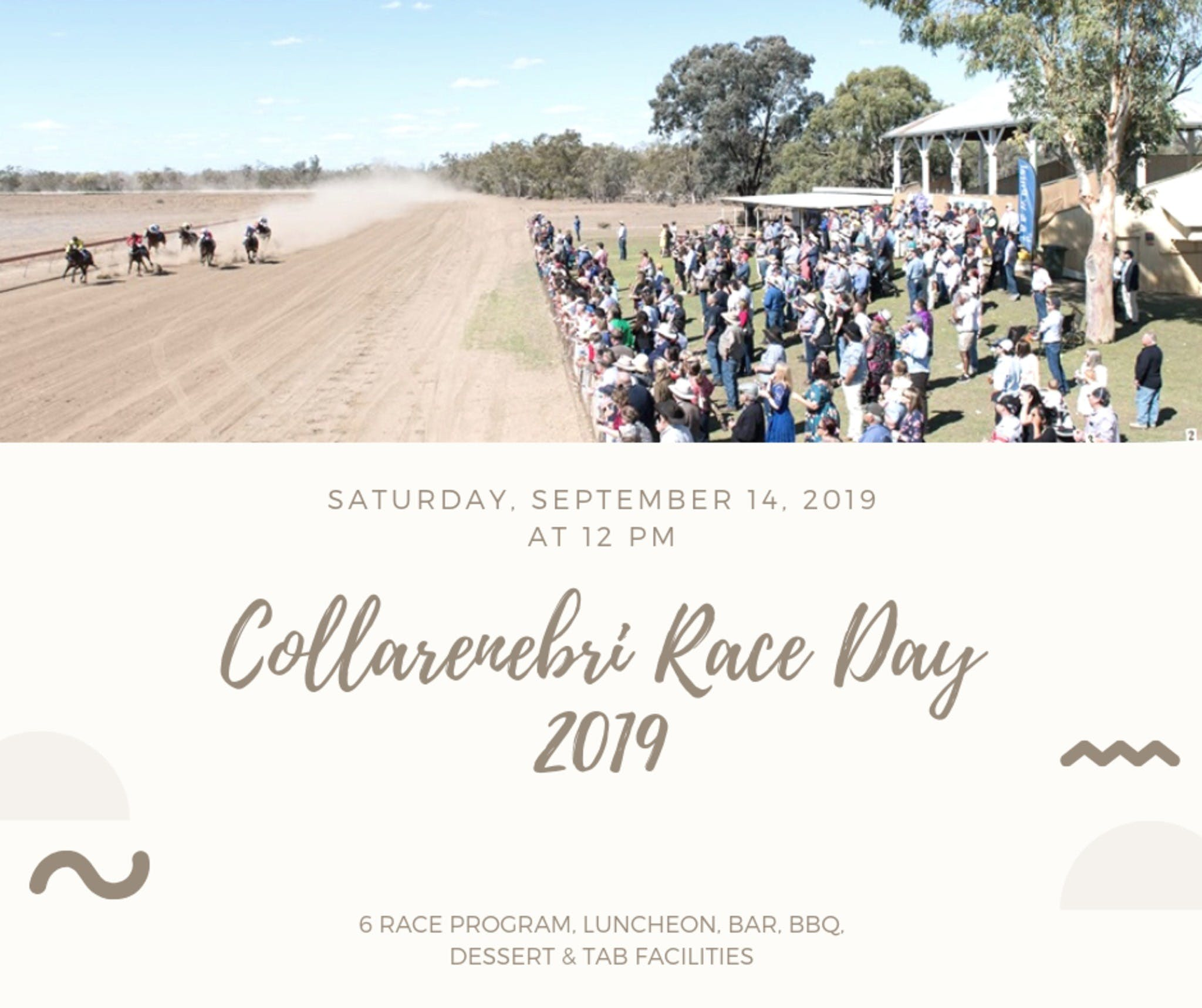 Collarenebri Races - Tourism Canberra