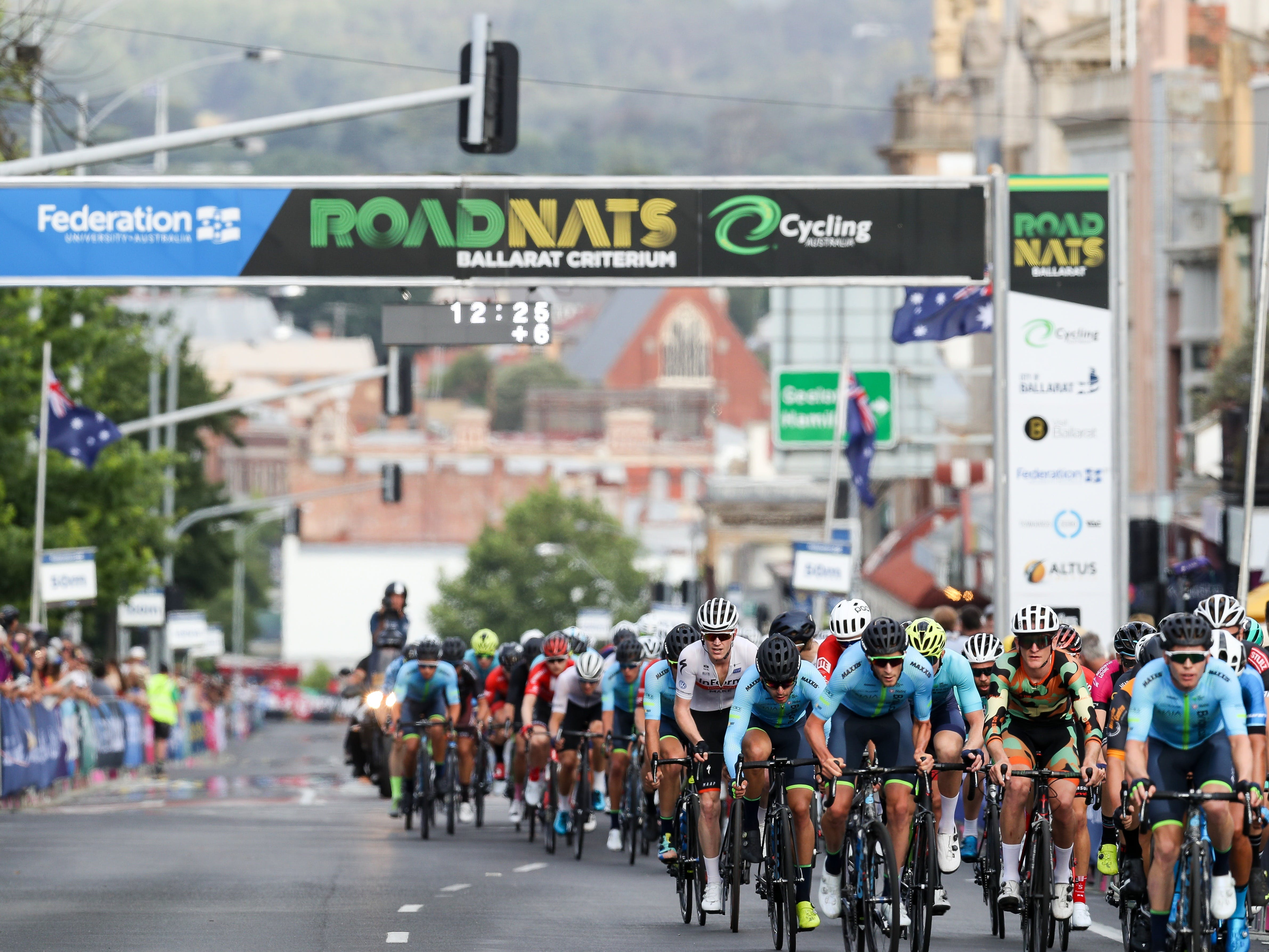 Federation University Criterium National Championships - Ballarat - Tourism Canberra