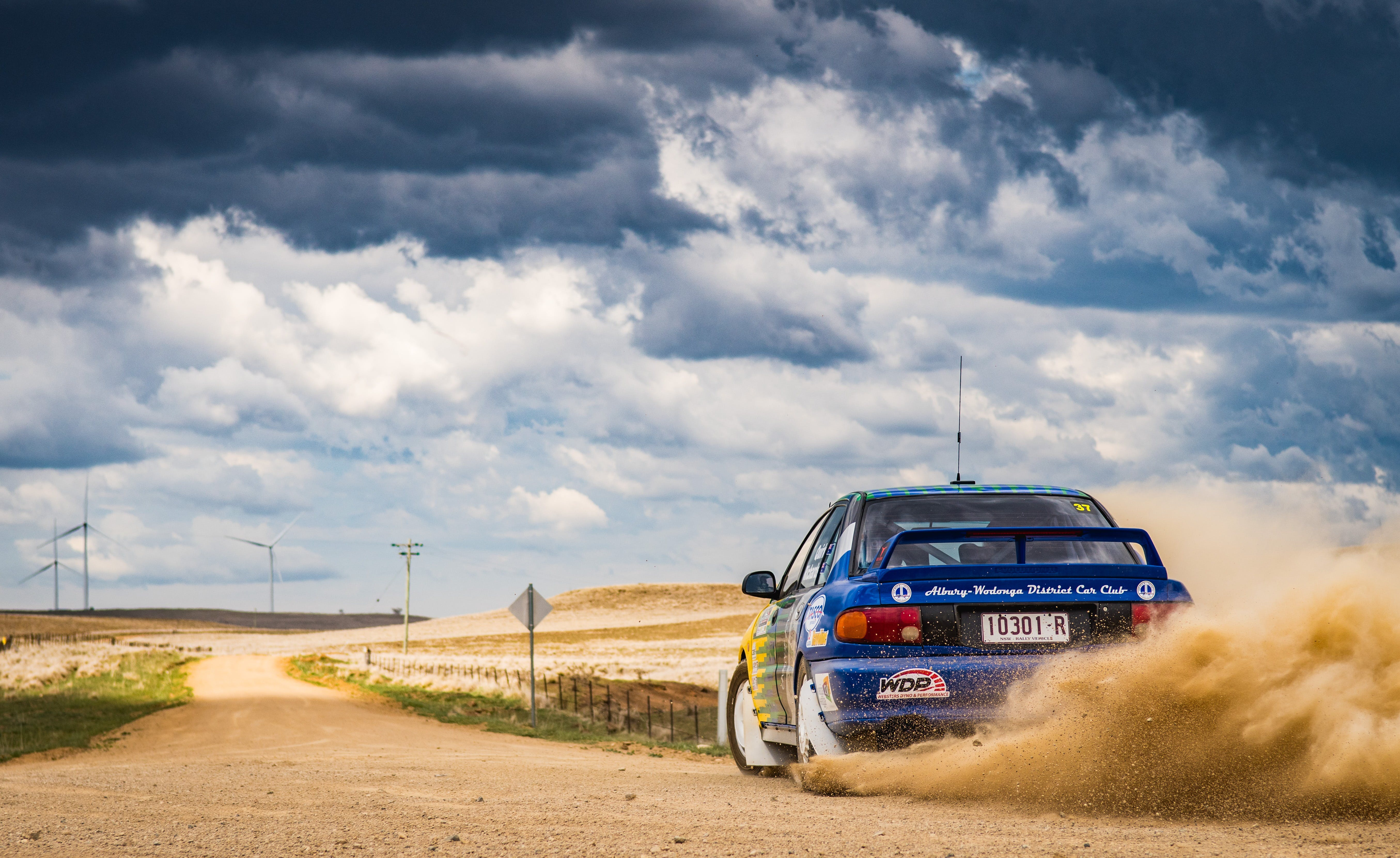 Kosciuszko Automotive Monaro Stages Rally - Tourism Canberra