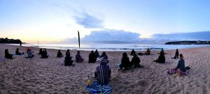Making Meditation Mainstream Free Beach Meditation Sessions - Avalon Beach - Tourism Canberra