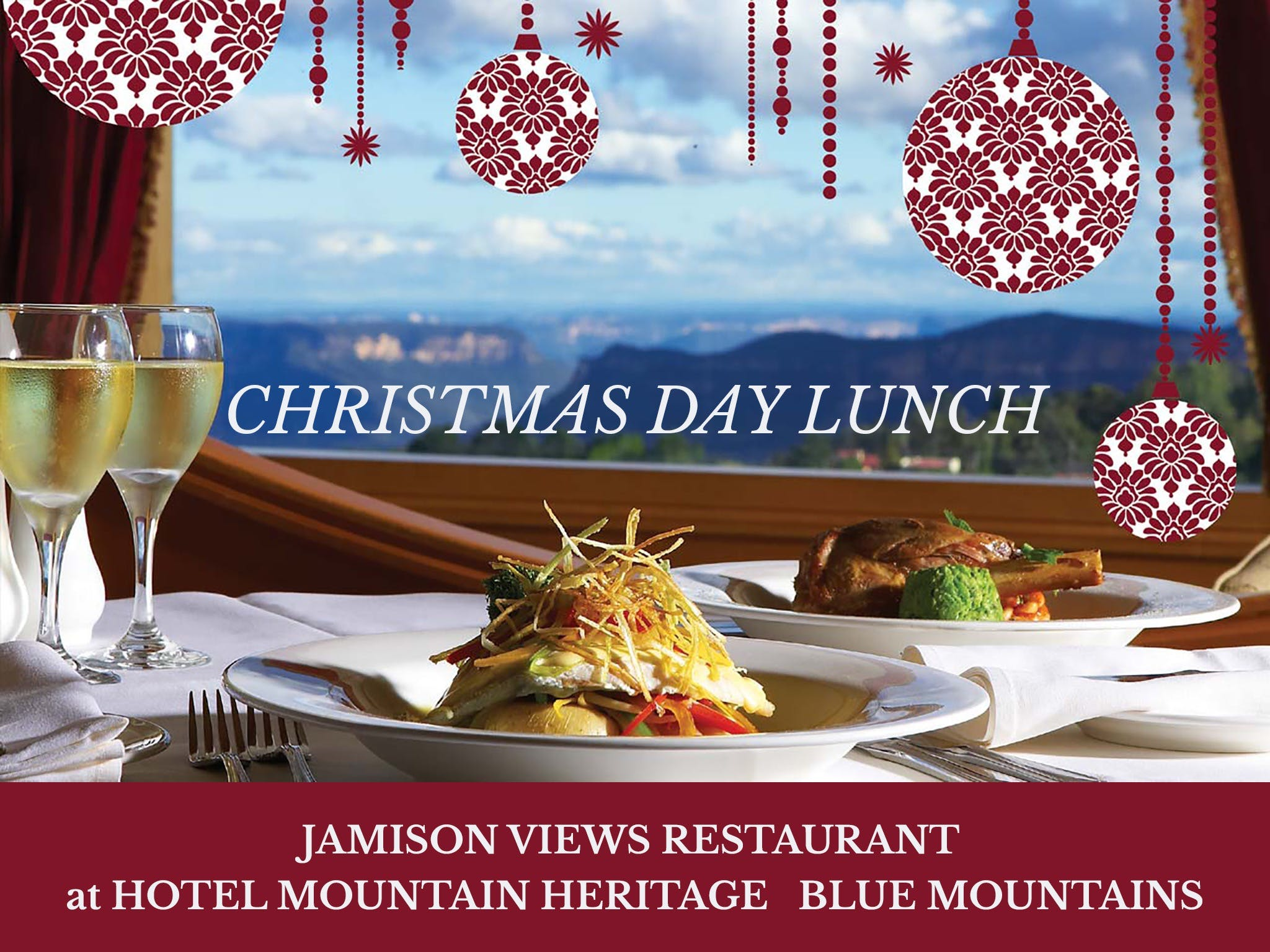 Christmas Day Lunch Hotel Mountain Heritage - Tourism Canberra