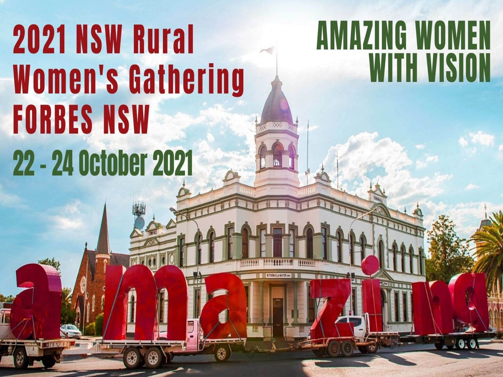 Forbes NSW Rural Women's Gathering - Tourism Canberra