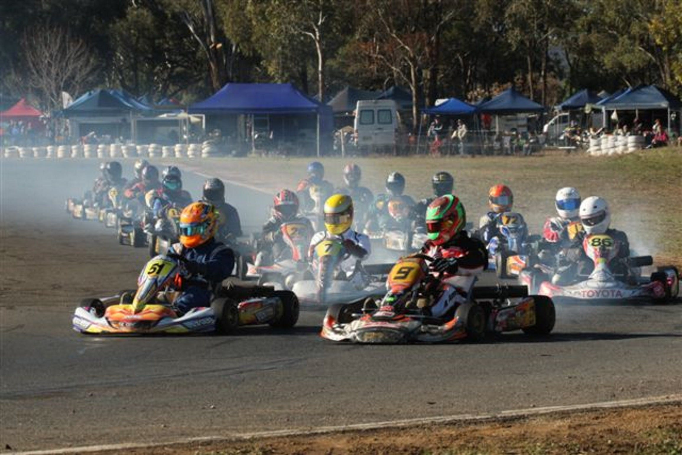 Grenfell Kart Club December Race Day - Tourism Canberra