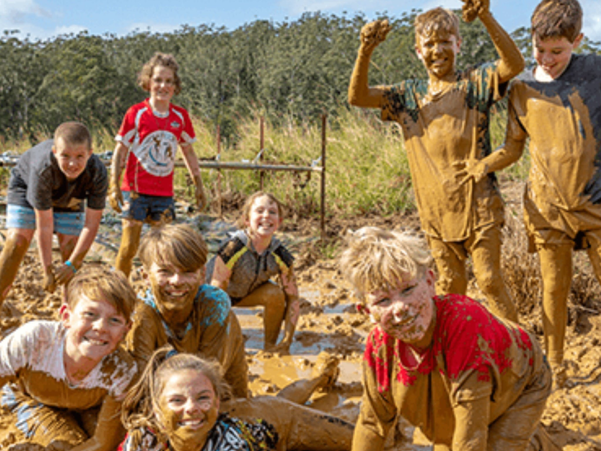 Mini Muddies Obstacle Challenge at Bunnamagoo Estate - Tourism Canberra