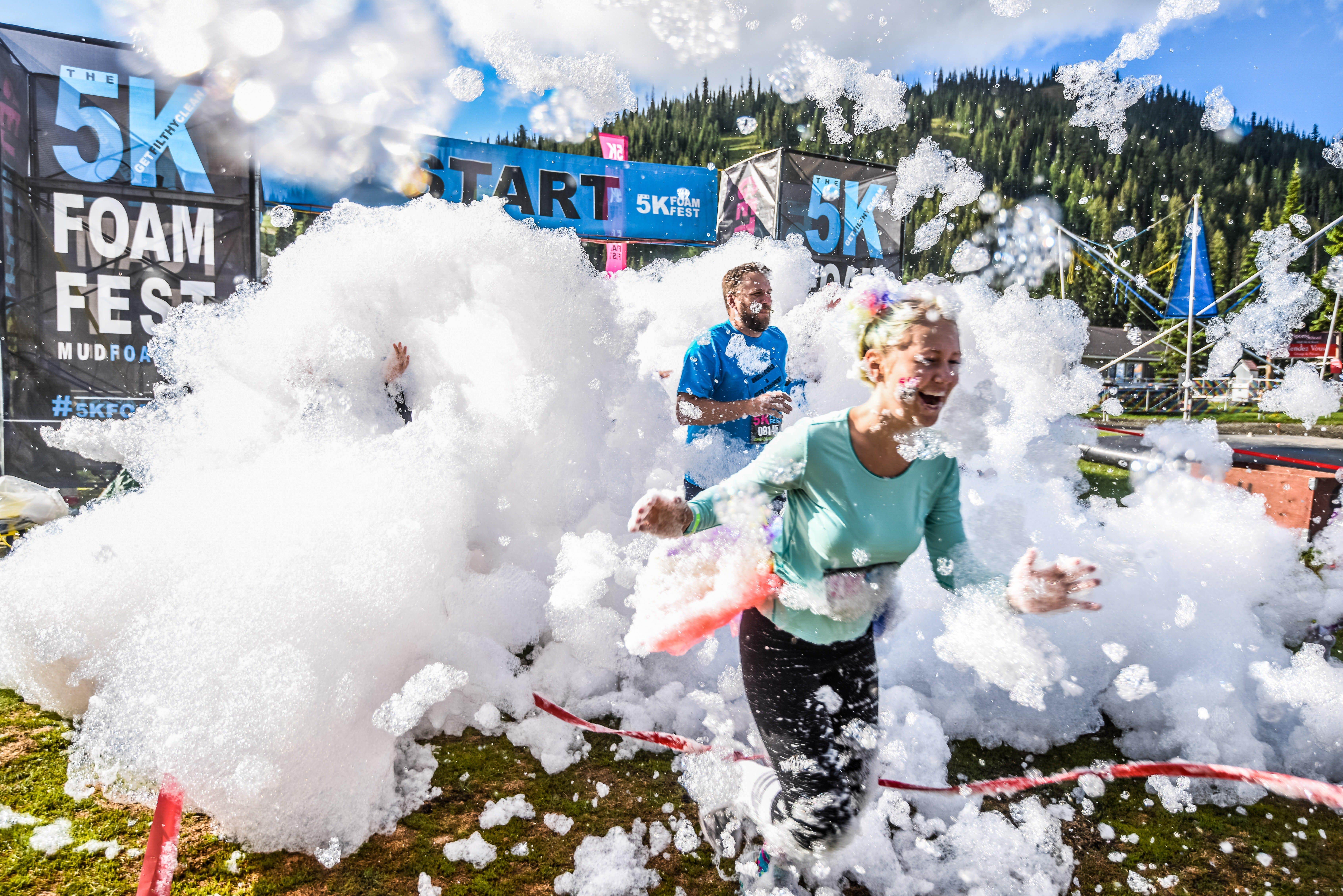 The 5K Foam Fest - Perth - Tourism Canberra