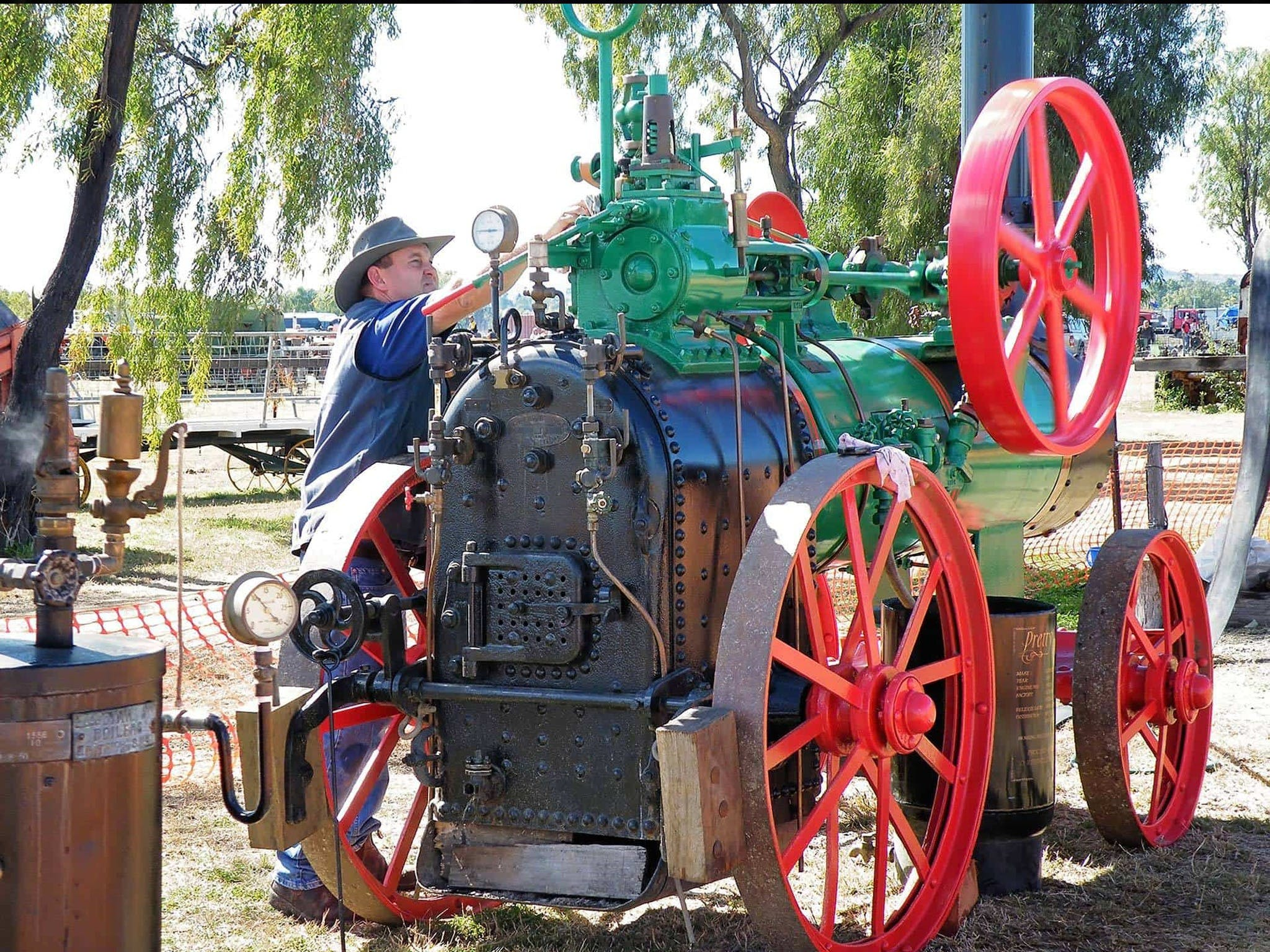9th Biennial Queensland Heritage Rally - Tourism Canberra