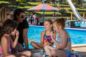 Australia Day fun at Lake Talbot Water Park - Tourism Canberra