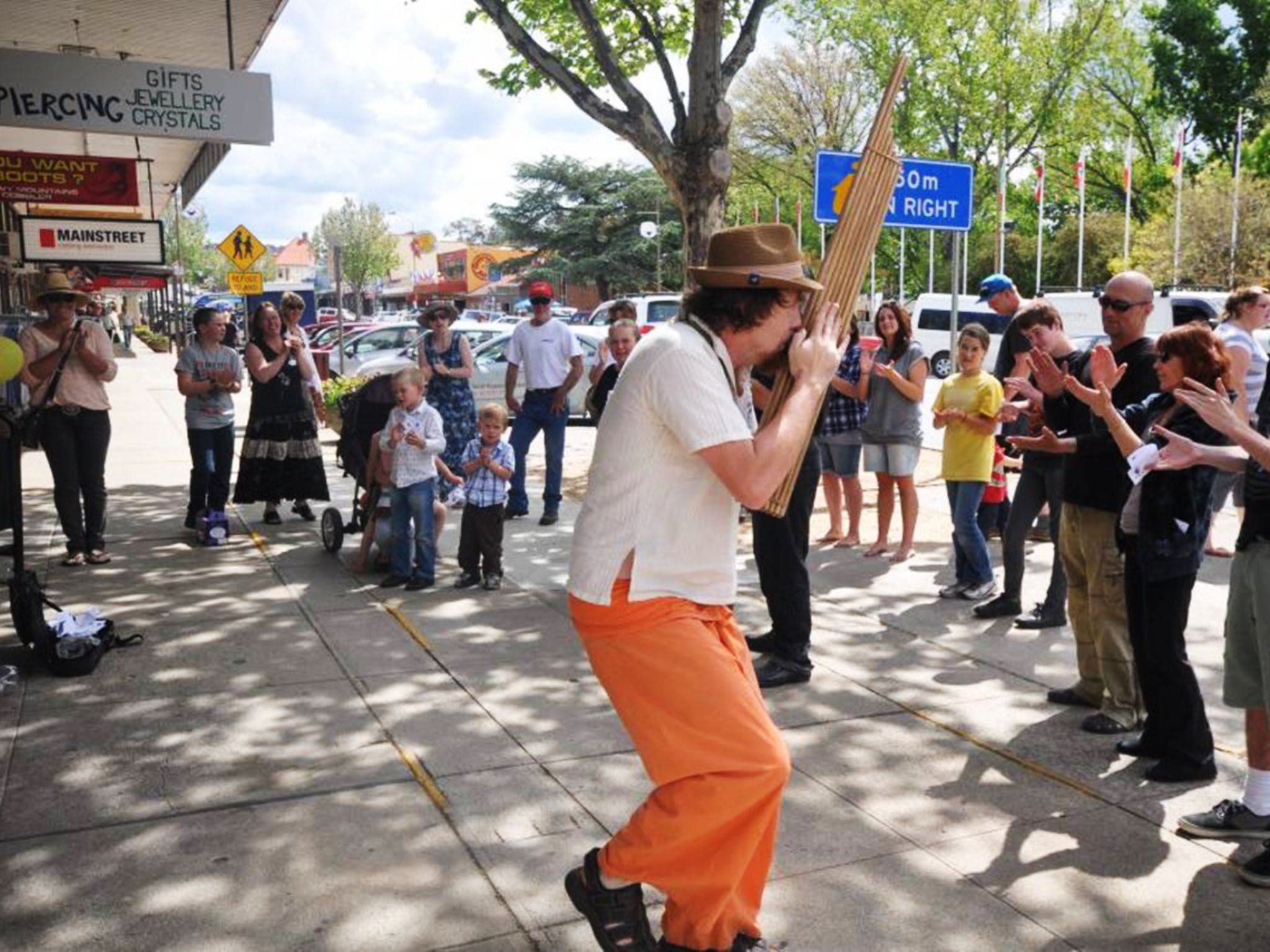 Australian National Busking Championships - Tourism Canberra
