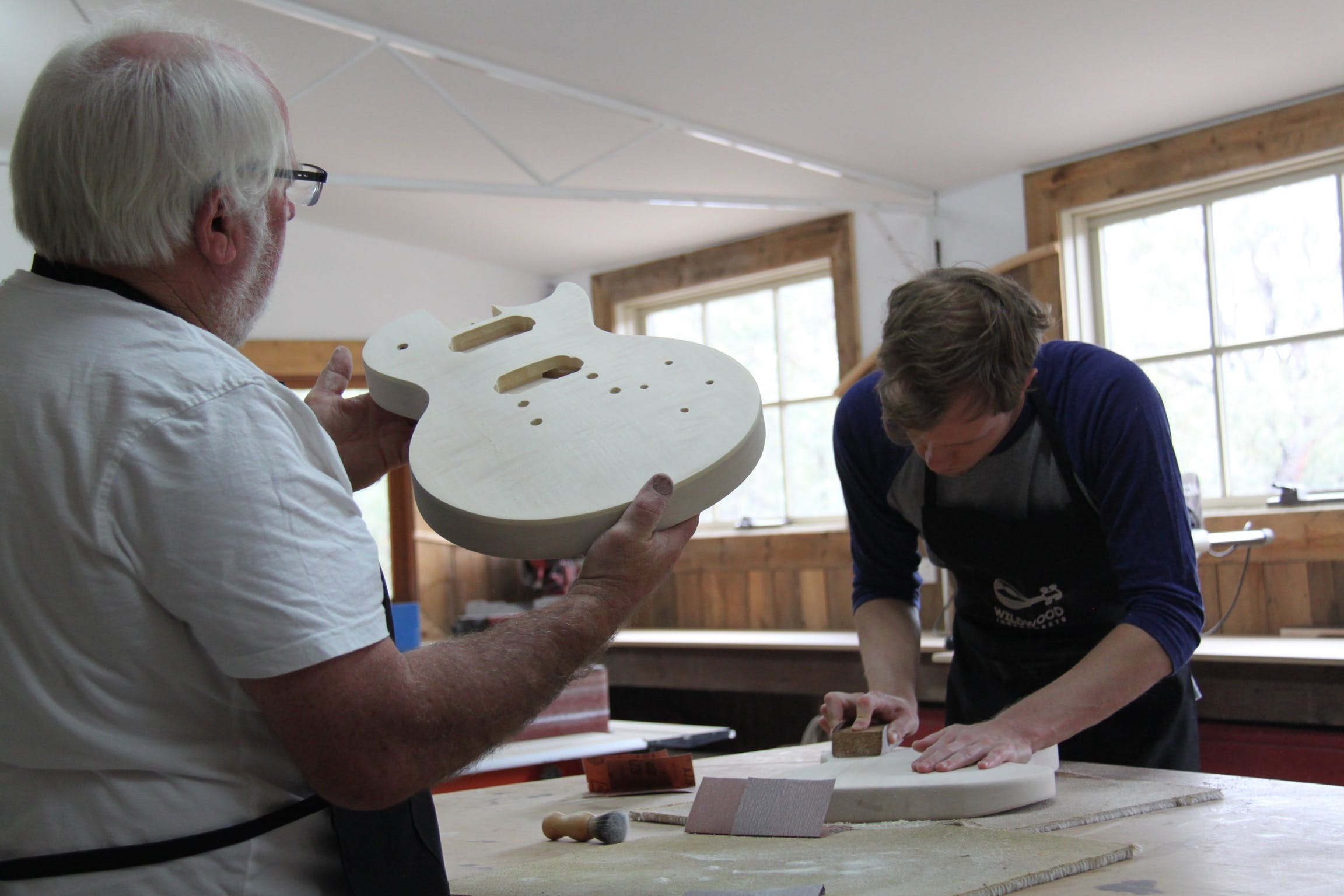 Electric Guitar Making Courses - Tourism Canberra