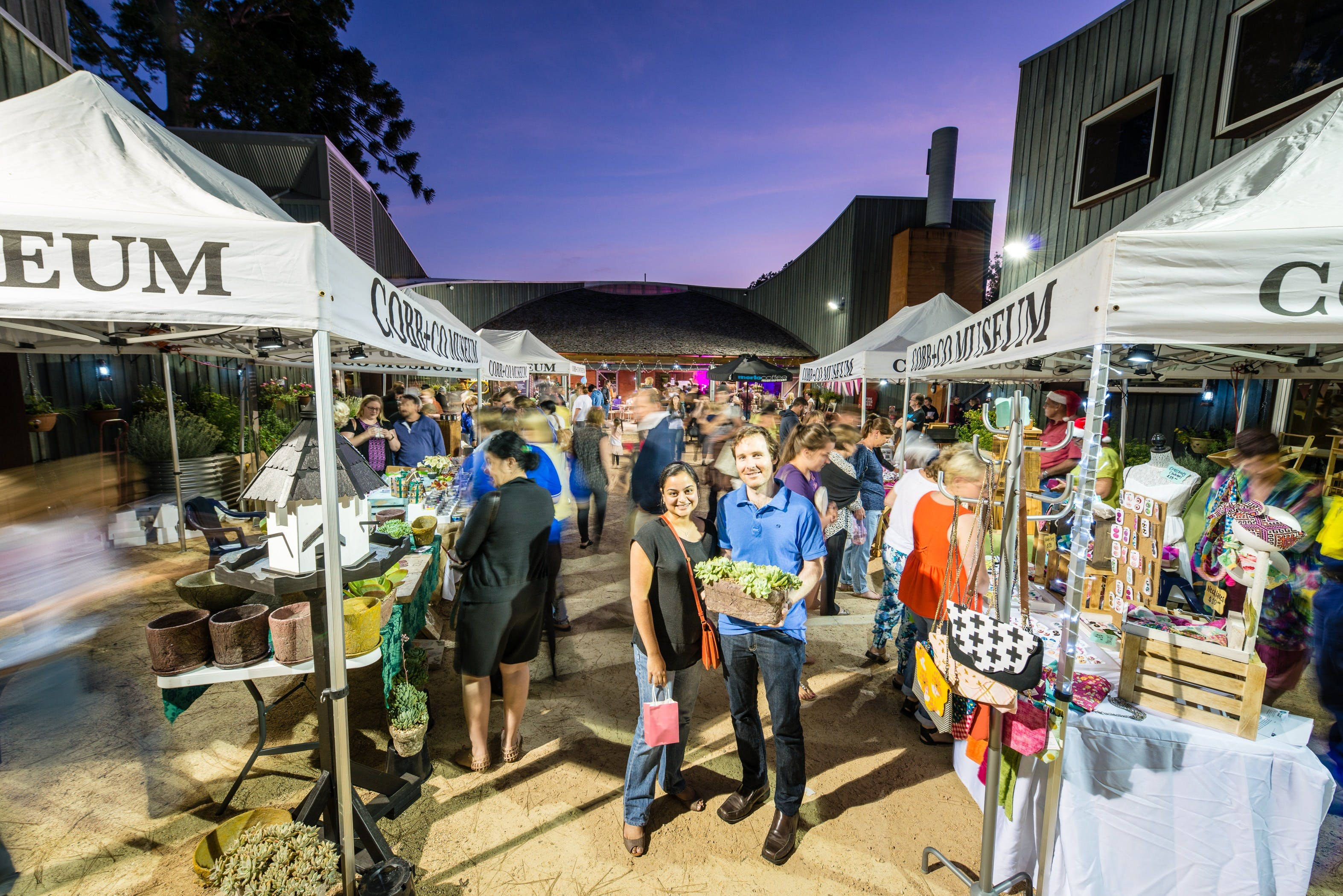Hand Made Under the Stars - Twilight Market - Tourism Canberra