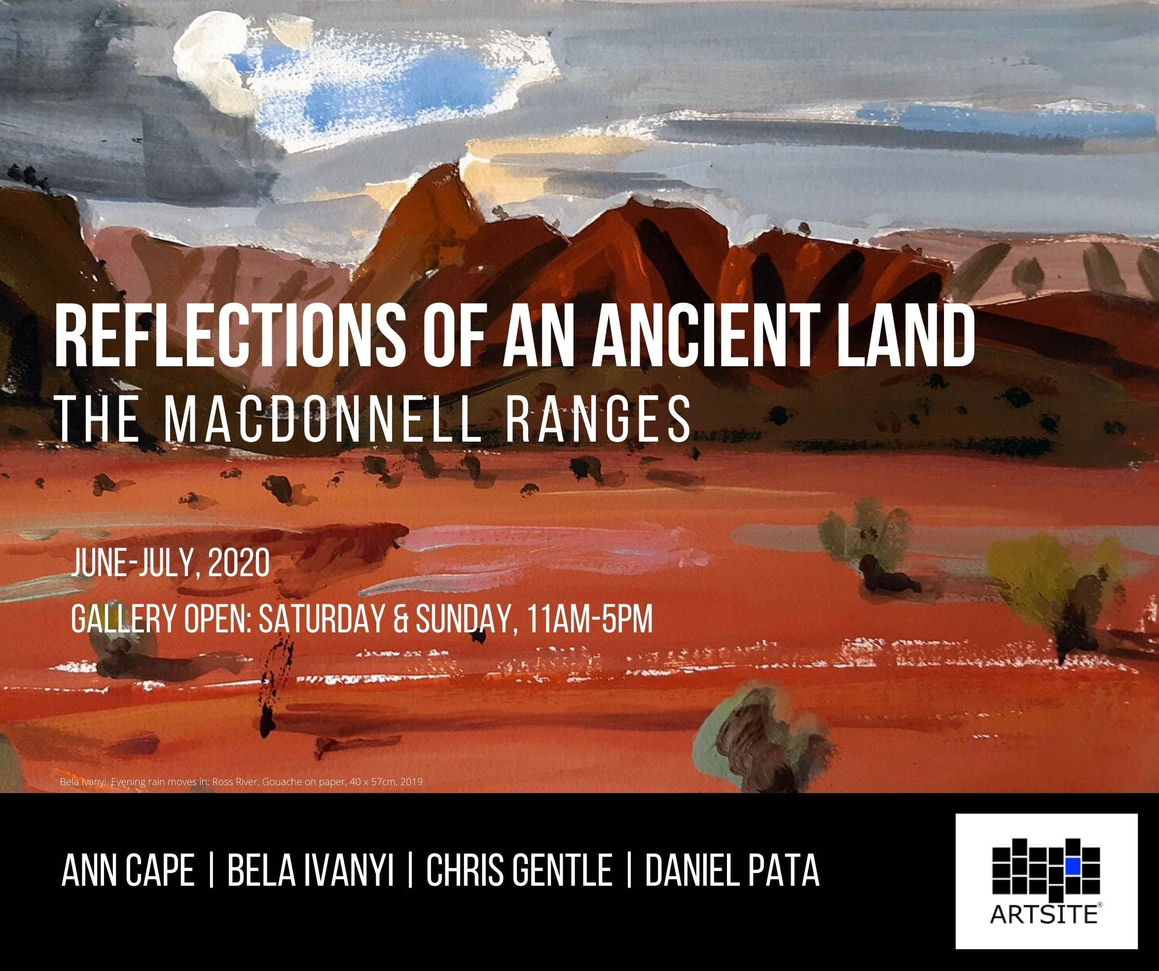 Reflections of An Ancient Land The MacDonnell Ranges - Tourism Canberra