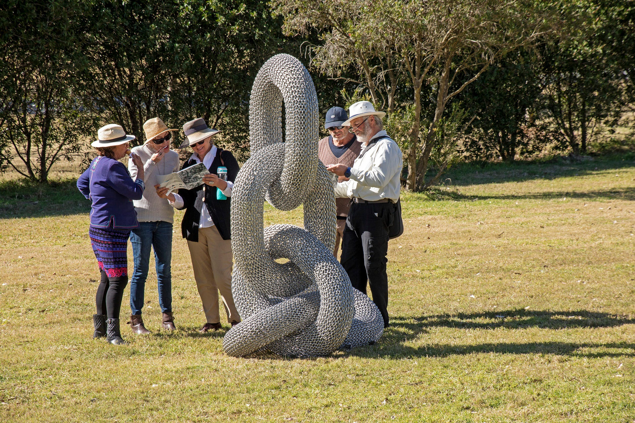 Sculpture for Clyde - Outdoor Exhibition - Tourism Canberra