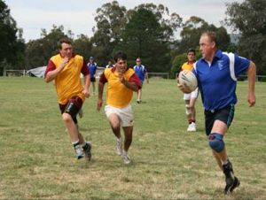 Veterans Touch Footy Carnival - Tourism Canberra