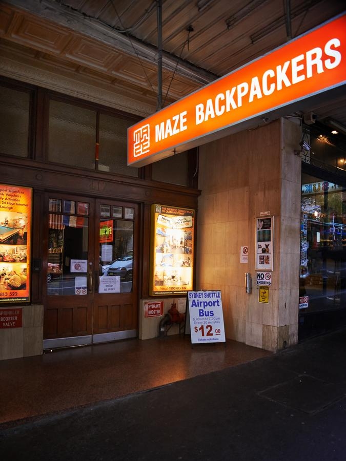 Maze Backpackers - Sydney - Tourism Canberra